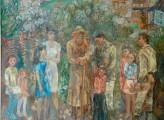 "Мурат Кабулов ""Весна"" холст, масло, 1987г. копия"
